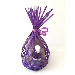 Coffret cadeau Huile essentielle Lavandin 50ml + sachet fleur de lavande